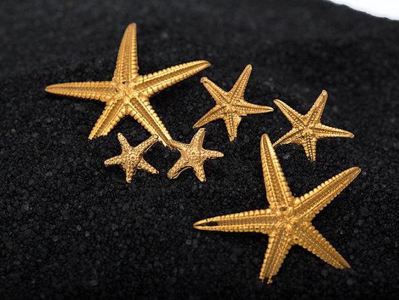 σκουλαρίκια καρφάκια αστερίες