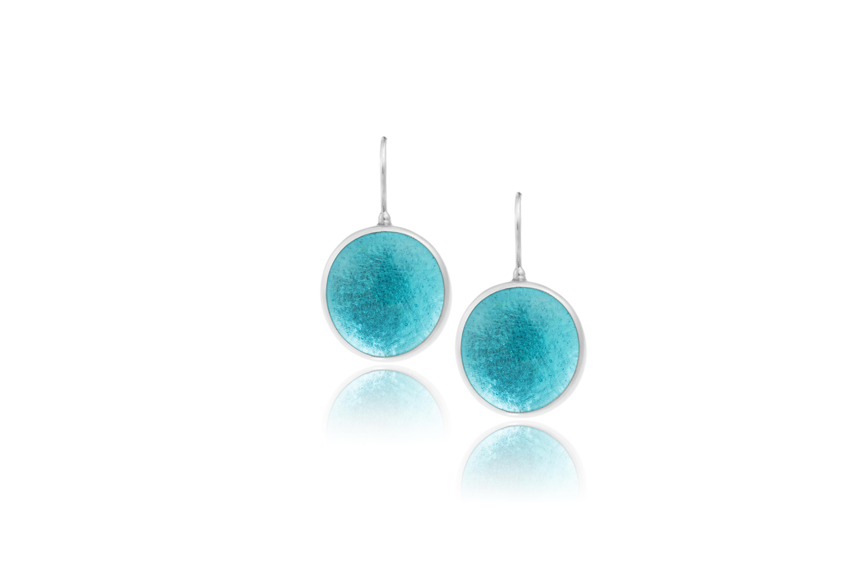 σκουλαρίκια γαλάζια άκουα μαρίνα